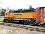 BNSF 2531 west after a day of switching duties